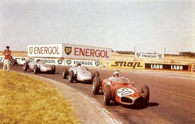 The French Grand Prix was held at Rouen in 1961