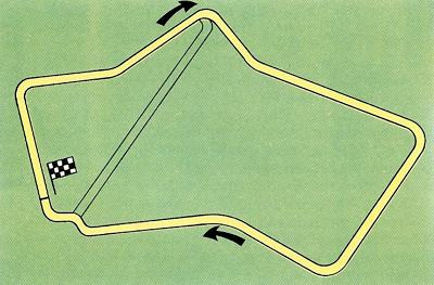 Silverstone circa 1975 - which shows why it was such a fast circuit