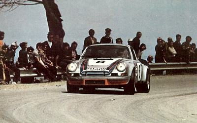 1973 Targa Florio winner was the Van Lennep / Muller Porsche