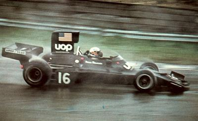 Peter Revson in his 1974 Shadow DN3