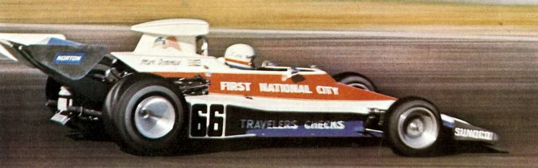 Formula One Penske with Mark Donohue at the wheel