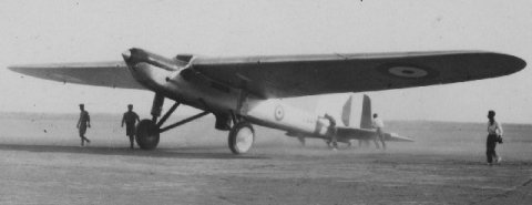 Mark II Fairey monoplane