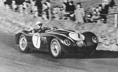 Stirling Moss At The Helm Of A C-Type