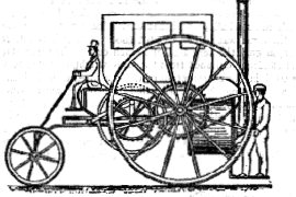 Richard Trevithick's Steam Carriage