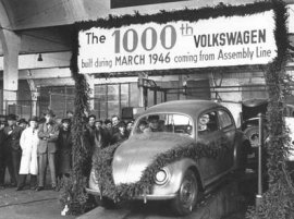The 1000th Volkswagen