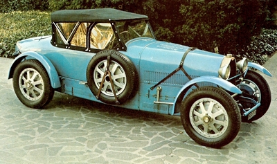 Long wheelbase Bugatti Type 43
