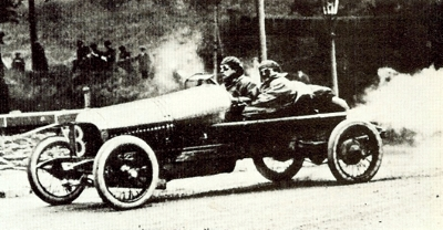 DFP 12/40 at the 1914 Isle of Man TT Race