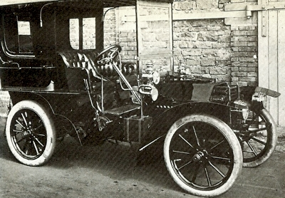 1902 DeDietrich, based on a Turcat Mery design