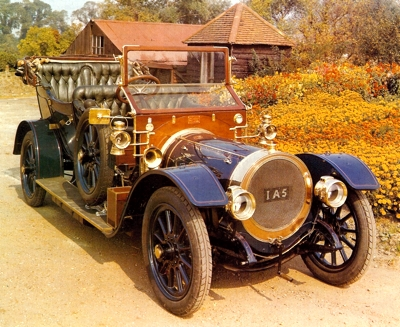 1908 Delaunay-Belleville with coachwork by Mulliner