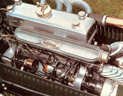 Engine from Frazer-Nash single seater