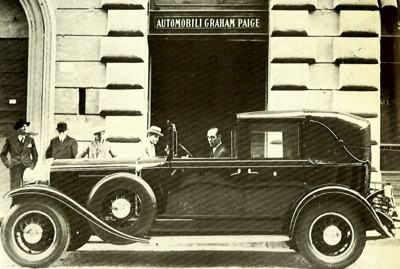 1930 Graham-Paige Coupe de Ville
