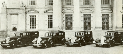 1933 Fleet of Humbers for HRH Prince of Wales