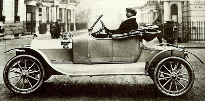 1912 Hupmobile four-seater