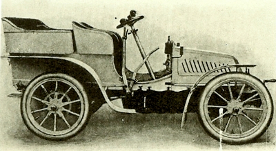 1902 Isotta Fraschini in profile