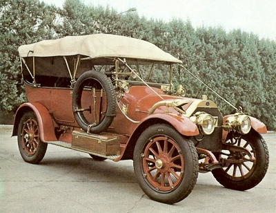 Itala 25/35 tourer, powered by a 5401cc four-cylinder