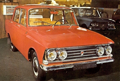 1968 Moskvich 412