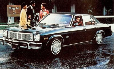 1978 Oldsmobile Omega Brougham Sedan