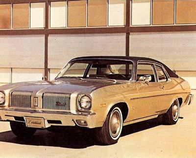1973 Oldsmobile Omega Hatchback Coupe