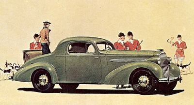 1936 Oldsmobile Eight Sport Coupe