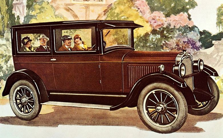 1927 Oldsmobile Six Coach Sedan