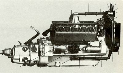 1915 Packard V12 engine