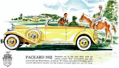 1932 Packard Advertisement