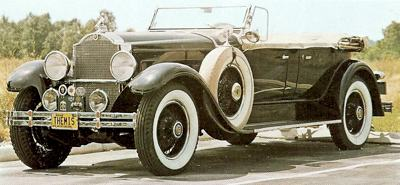 1929 Packard Model 645 Phaeton