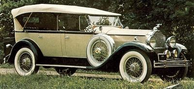 1930 Packard Model 645 Tourer