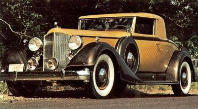 1934 Packard Coupe Sport