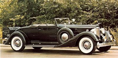 1934 Packard 12 cylinder Coupe Roadster