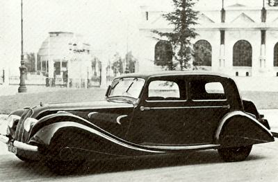1934 Panhard 4 door sedan