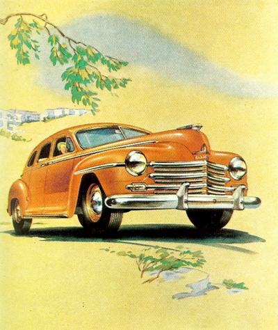1940's Plymouth Advertising
