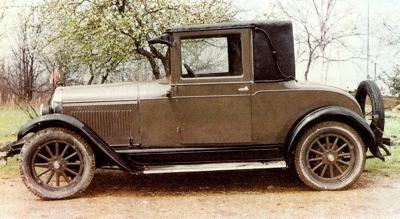 1926 Pontiac Coupe - the 'Chief' of the Sixes