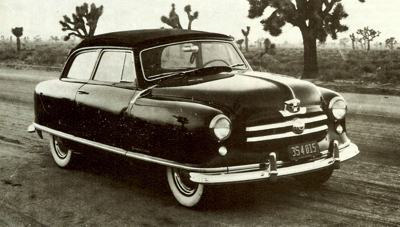 In 1950 the Rambler name was revived, for the new Nash compact
