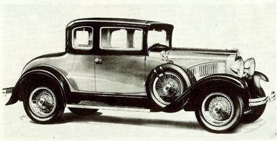 The Reo Flying Cloud Coupe
