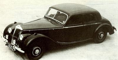 1946 Riley Two point Six model
