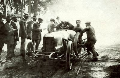1911 Rolland-Pilain 6.1 liter 4-cylinder at the Grand Prix de France