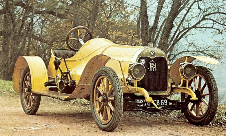 1909 Rolland-Pilain two-seater runabout, which was fitted with a 2100cc four-cylinder engine