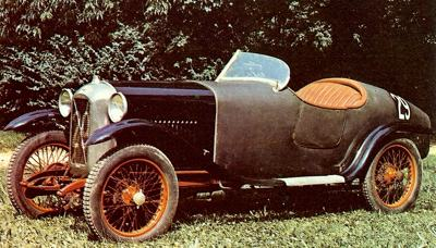 1927 Competition Salmson, powered by a 1100cc twin overhead cam engine