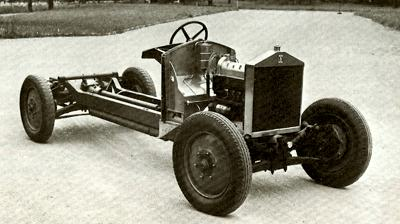 1924/1925 Sizaire 2 liter chassis