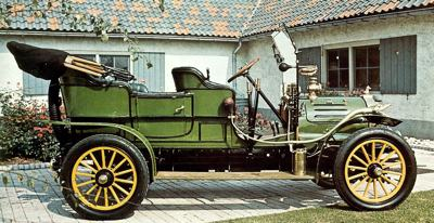 1904 Spyker open-tourer