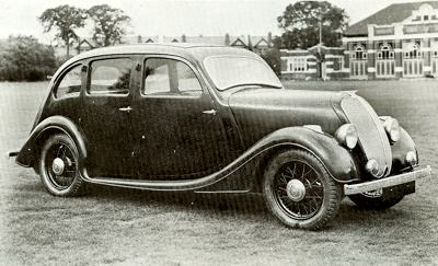 1932 Standard Prototype, which used the 12 hp chassis