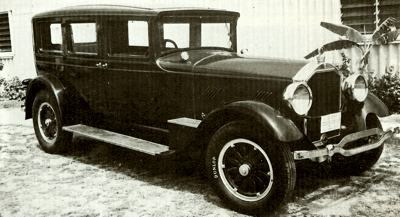 1926 Stearns Knight limousine