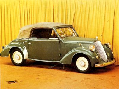 1934 Steyr Coupe