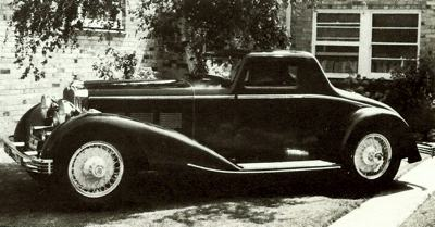 1932 Stutz short-chasss DV32 Super Bearcat