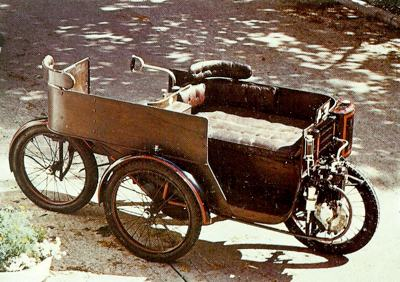 Sunbeam Mabley, the very first Sunbeam, powered by a 326cc single-cylinder engine