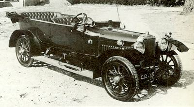 1915 Sunbeam 16 HP powered by a 3016cc engine