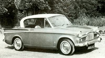 1964 Sunbeam Rapier Series IV.