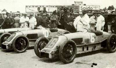 1.5 Liter Talbot Darracqs at a race meeting held during 1926