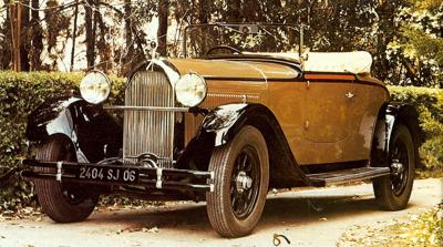1930 Talbot 14 HP M75 Two-Seater Spider
